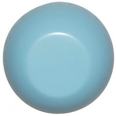 Large Round Wooden Hook Light Blue