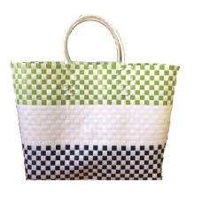 Carry All Large Woven Tote Bag - Jane Design