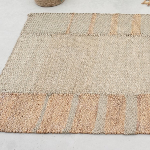 Water Hyacinth Seagrass Area Rug 180cm X 260cm Natural